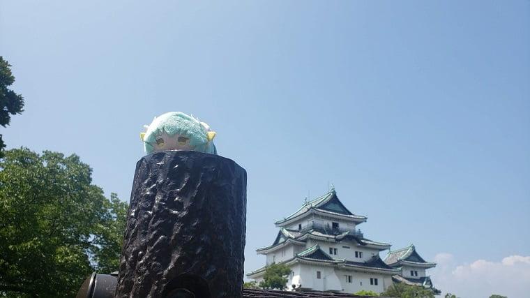 和歌山城と清姫